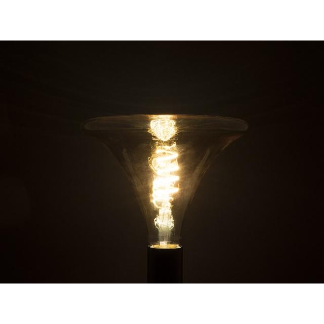 Лампа св/диод. ECOWATT Loft R150 4W 2700K E27 теплый белый свет колба в форме колокола янтарная