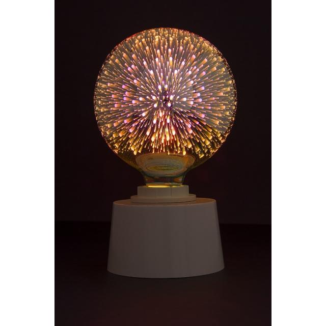 Лампа св/диод. декоративная ECOWATT G125 4W 2700K E27