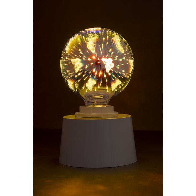 Лампа св/диод. декоративная ECOWATT  G95 4W 2700K E27