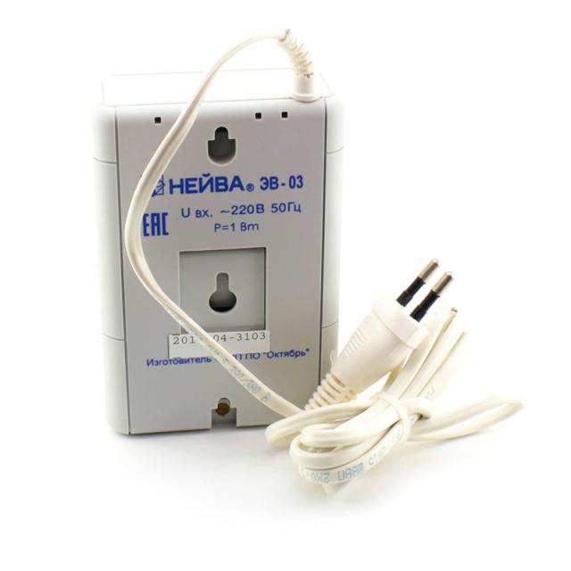 Звонок электронный НЕЙВА ЭВ-03 220В 50Гц 70Дб