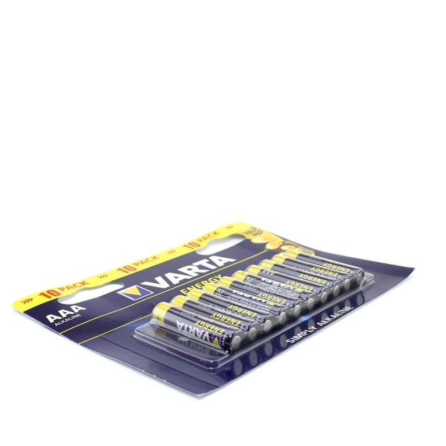 Батарейка щелочная VARTA LR03 (AAA) Energy 1.5В бл/10 (4103 229 491)