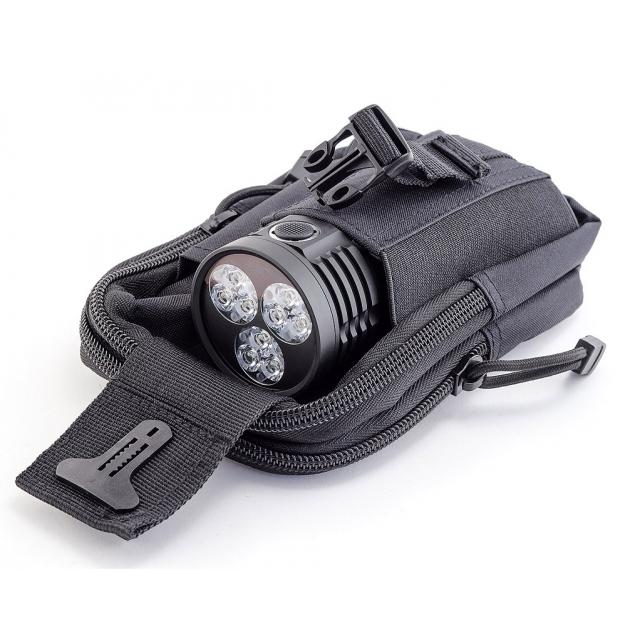 "Фонарь ЯРКИЙ ЛУЧ YLP G180 ""Gryphon"" 9 LED CREE XP-G2 max3200лм, 5 реж.+строб, IPX8, под 3 акк. 18650"
